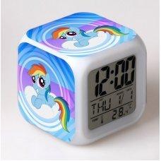 Часы-будильник хамелеон My Little Pony (вариант 3)
