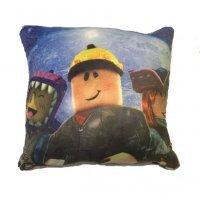Декоративная подушка Роблокс и ночное небо 33 см Roblox