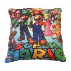 Декоративная подушка Марио 33 см Mario