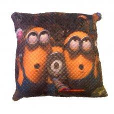 Декоративная подушка Веселые Миньоны Minions 33 см